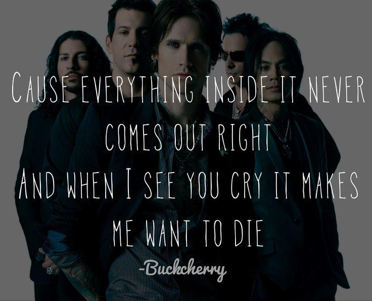 Buckcherry ~ Sorry Lyrics <3