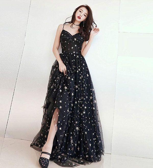 Hellgelbes Abendkleid mit durchsichtigem Ausschnitt von MeetBeauty, $ 113.62 USD
