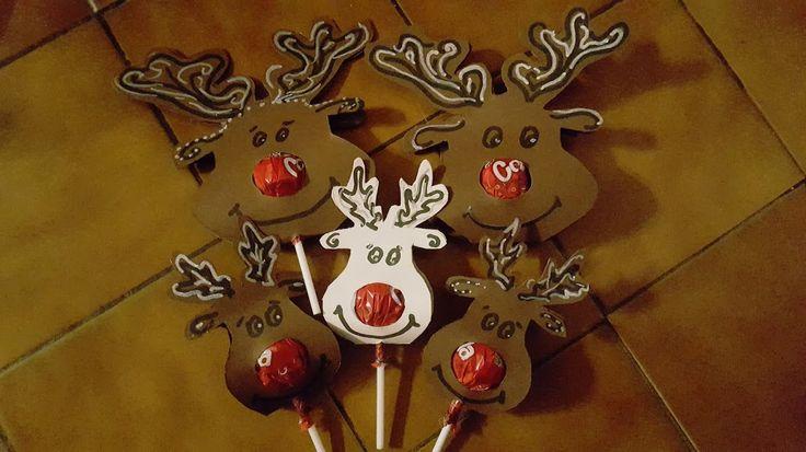 Deer lollypop