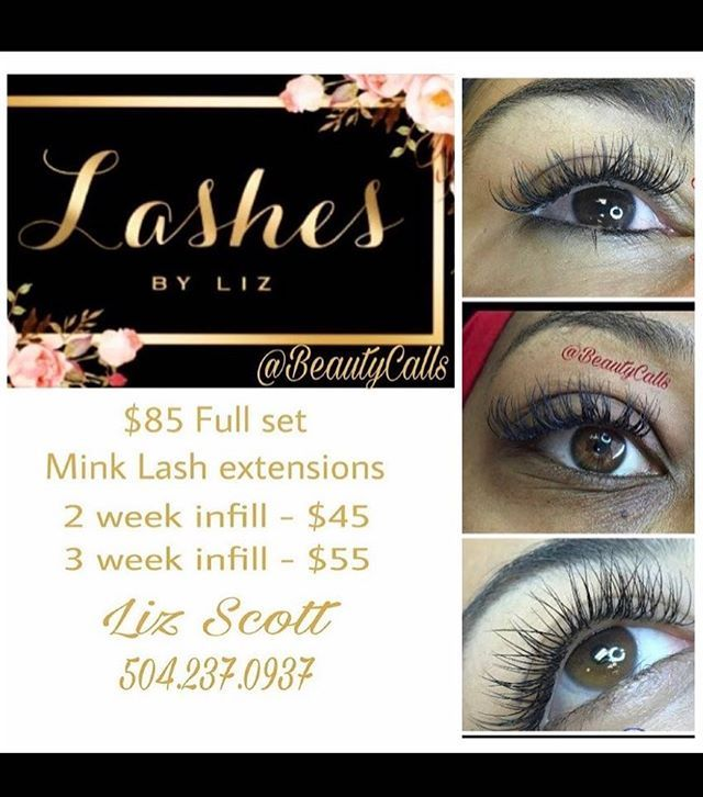 LASHESBYLIZ 🚨 LIKE SHARE & TAG @beautycalls for a chance to win a full set of mink lash extensions by ME 🤗 drawing is Friday May 12th just in time for Mothers Day! Gentlemen enter to win for your Ladies!  Who will be the Lucky winner?! . . certifiedlashartist #beyoutiful #LASHMAGIC #minklashes #weddinglashes #ExtendyourBeauty #datenight#partylashes #specialevent #nolalashesextensions #kennerlashes #nolalashes #metairielashes #lashista #lashes #minklashextensions #nomascaraneeded…