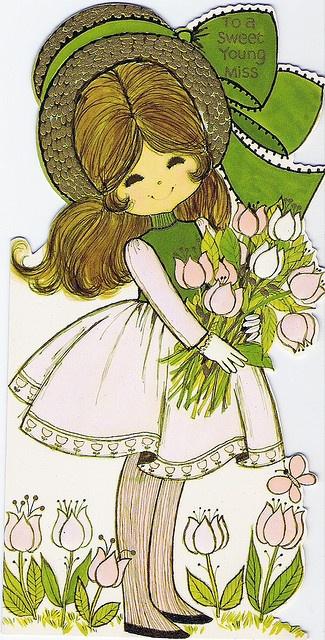 〆(⸅᷇˾ͨ⸅᷆ ˡ᷅ͮ˒).                                                              vintage Easter 70's card