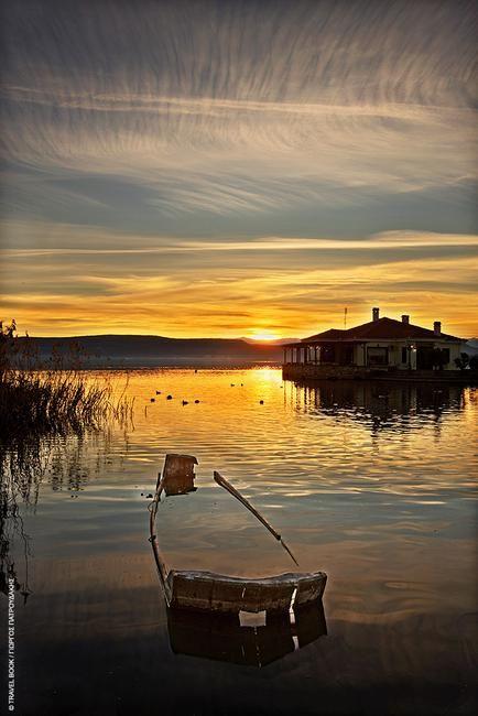 Lakes of Macedonia - Prespes Lake Florina, Macedonia northern Greece