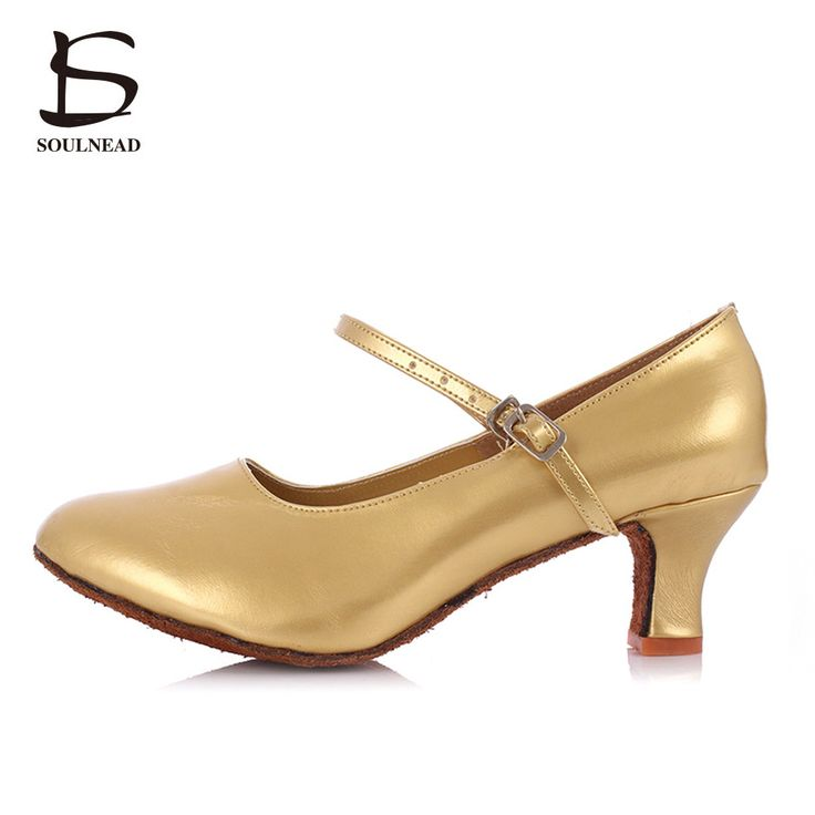 2017 New Modern Dancing Shoes For Ladies/Women/Girls/Salsa&Tango/ Ballroom Latin Shoes PU Sequins High Quality Dance Shoes