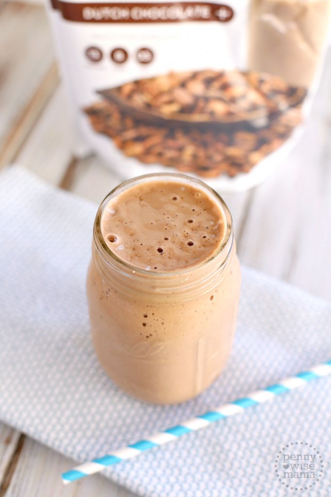 Chocolate Banana Smoothie with Juice Plus
