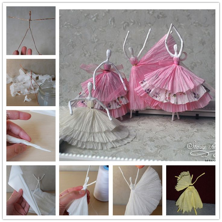 How to Use Tissue to Make Dancing Figures