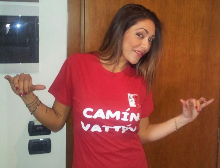 """BARBARA MONTEREALE - Le T-shirt """"Camin Vattin"""" sono in vendita presso il negozio BIDONVILLE Via Melo 224 a Bari - tel. 080-9905699 (consegna in tutta Italia e all'Estero con spedizione postale)"""