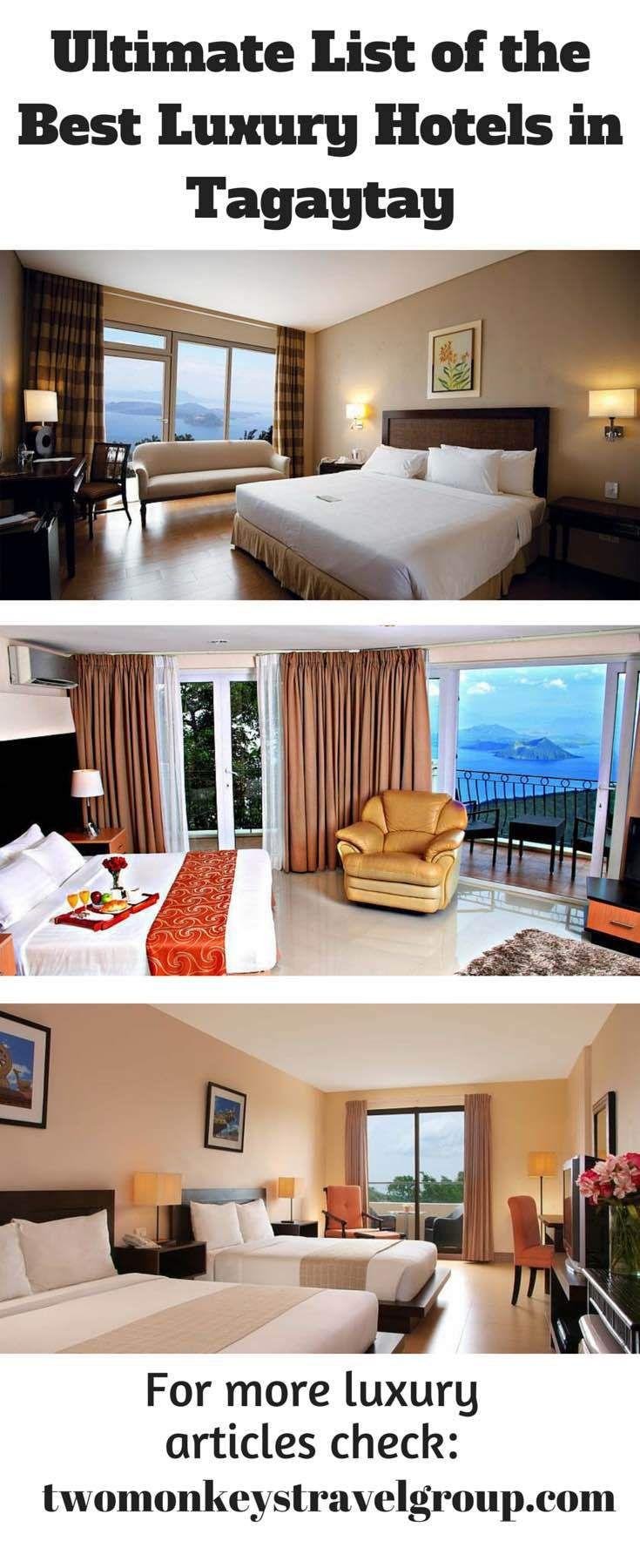 best luxury hotels in tagaytay