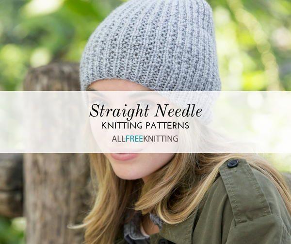26 Straight Needle Knitting Patterns You Need Easy Knit Hat Knit Beanie Pattern Easy Knitting