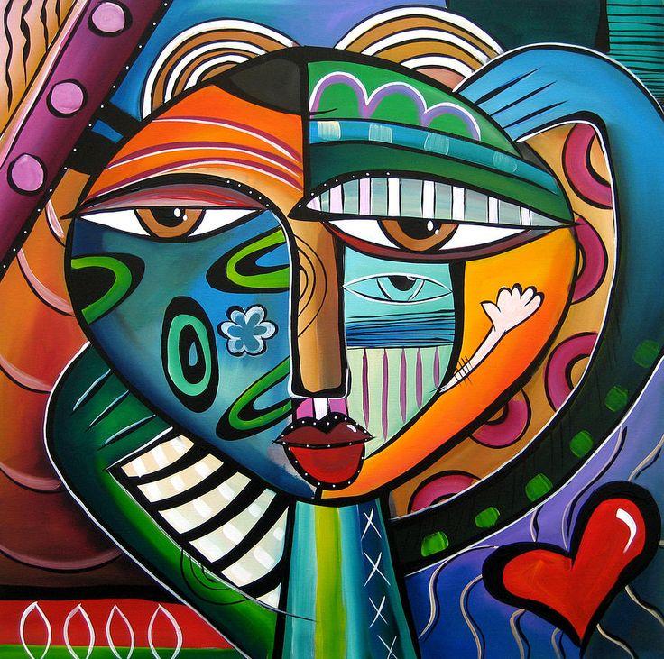 Hypnotik Painting  by Chicago artist TOM FEDRO aka