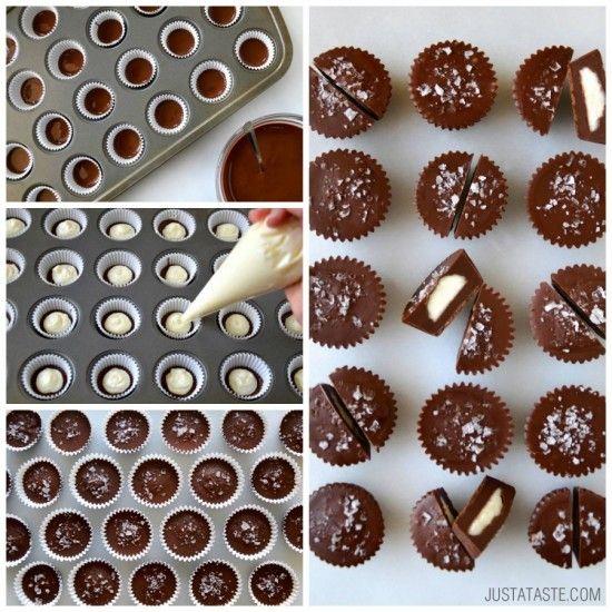 No Bake chocolate cheesecake cups