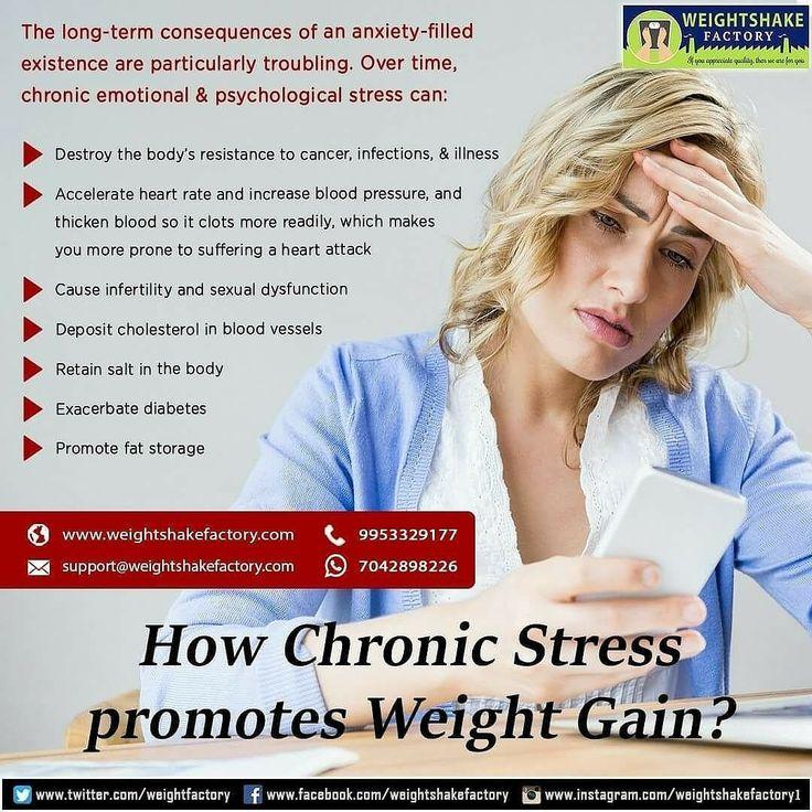 HOW CHRONIC STRESS PROMOTES WEIGHT GAIN?  https://www.instagram.com/p/BfXWiwKDsuJ/