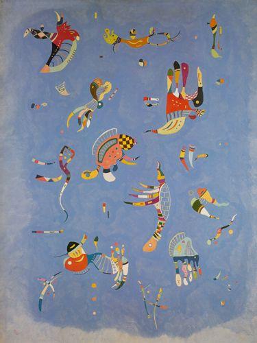 Himmelsblau - Wassily Kandinsky - IG 7361