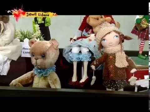 Выставка авторских кукол и Мишек тедди,  Кишинёв, Молдова 2014