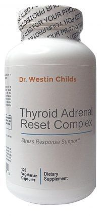Thyroid adrenal reset complex designed specifically for hypothyroid patients.