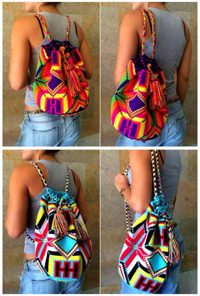 New Backpacks available at Kolombiana