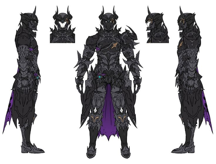 Dark Knight from Final Fantasy XIV: Stormblood