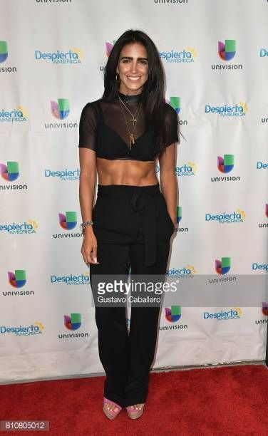 08-02 MIAMI, FL - JULY 07: Singer Barbara de Regil is seen on... #regil: 08-02 MIAMI, FL - JULY 07: Singer Barbara de Regil is seen… #regil