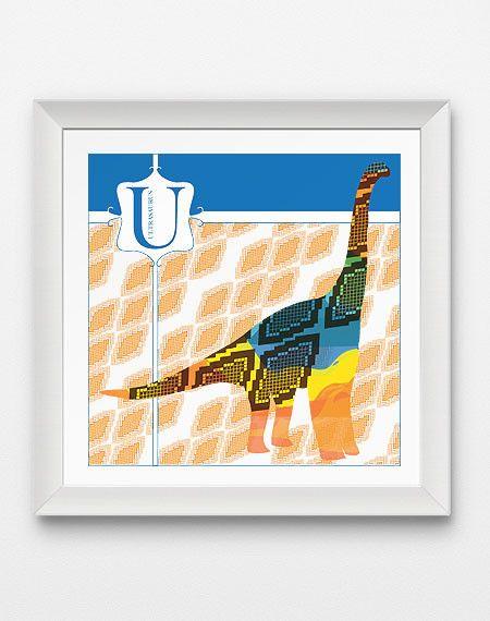 U is for Ultrasaurus