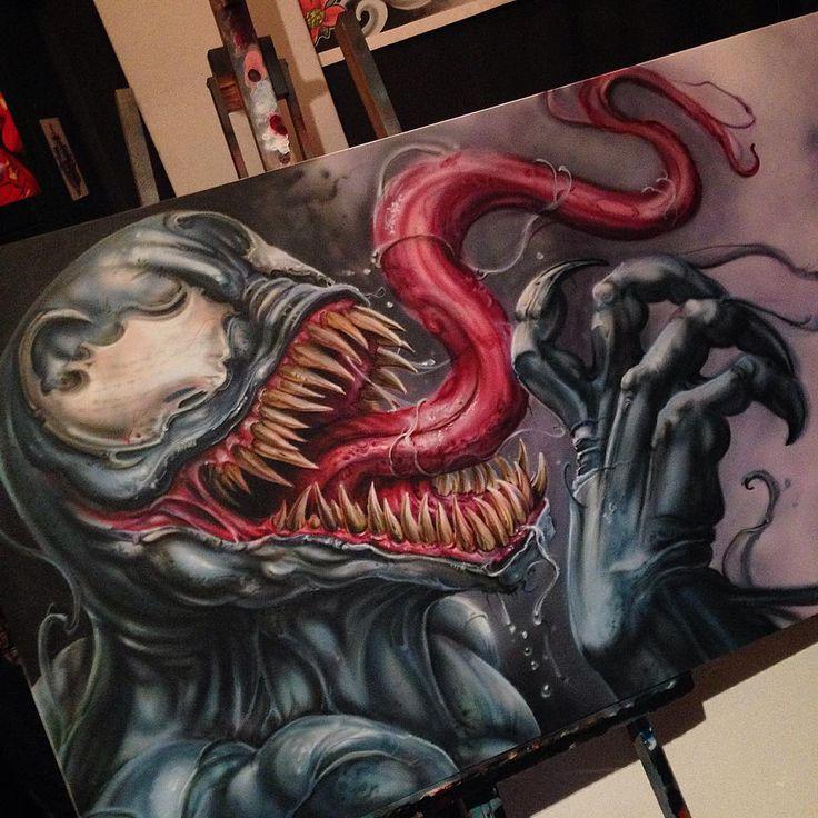 best 25 venom tattoo ideas on pinterest spiderman