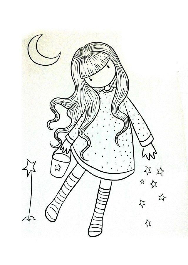 Dibujos Santoro Para Colorear   Coloring pages, Applique ...