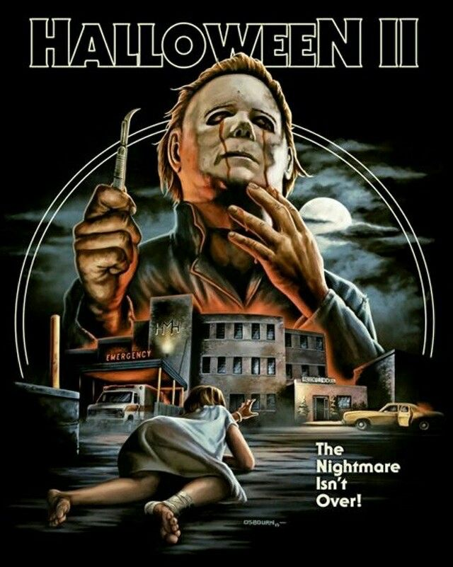 Halloween II  Check out Fright-Rags.com to purchase this design as well as many others on high quality t-shirts