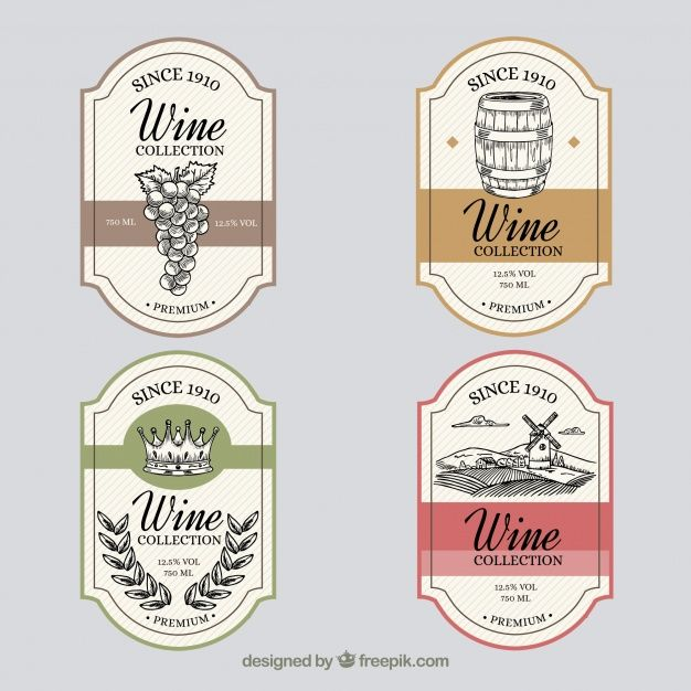 Pin By M Francis On Fine Wines Wine Label Design Vintage Wine Label Vintage Wine
