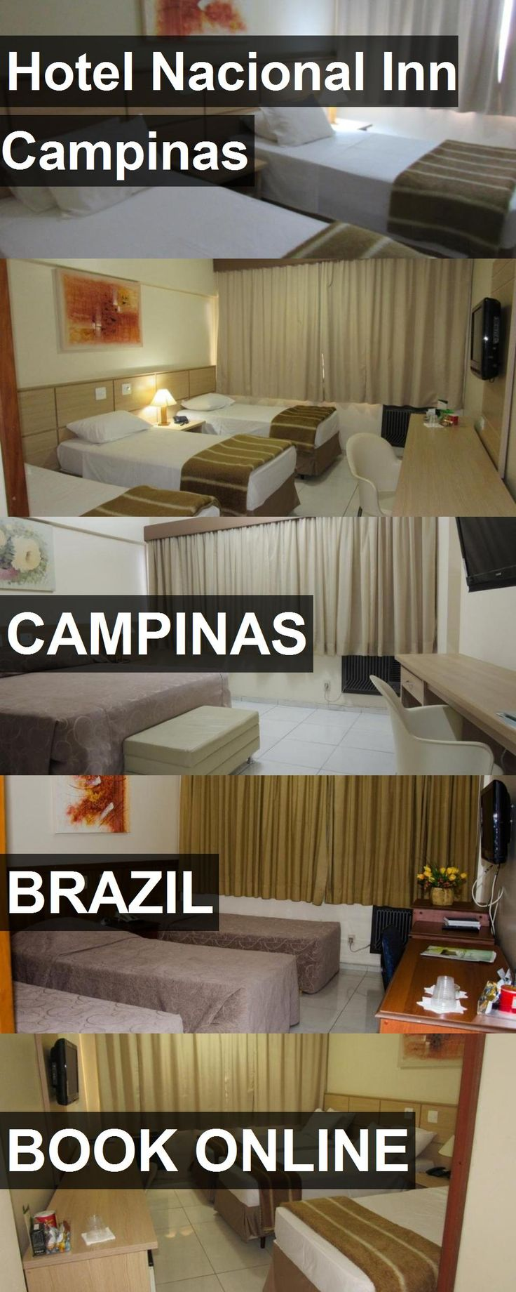Hotel Hotel Nacional Inn Campinas in Campinas, Brazil. For more information, photos, reviews and best prices please follow the link. #Brazil #Campinas #HotelNacionalInnCampinas #hotel #travel #vacation