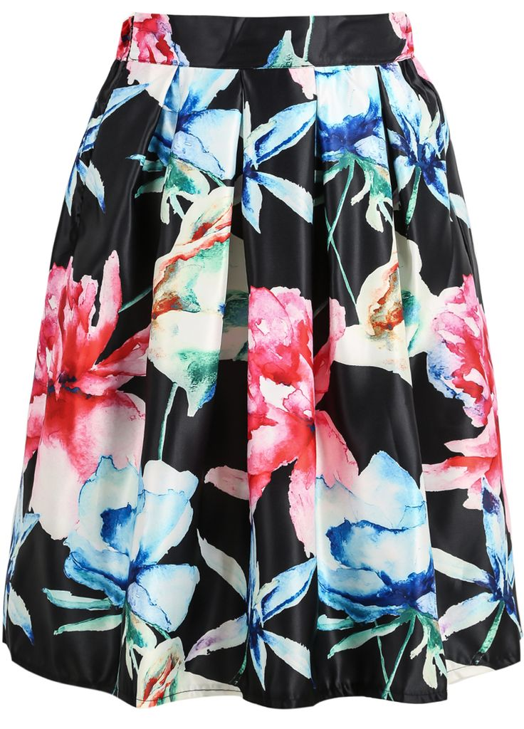 Shop Black Maple Leaf Print Midi Skirt online. Sheinside offers Black Maple Leaf Print Midi Skirt & more to fit your fashionable needs. Free Shipping Worldwide!