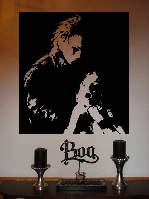 Michael Myers Halloween Vinyl Wall Sticker by BlackfinGraphics,