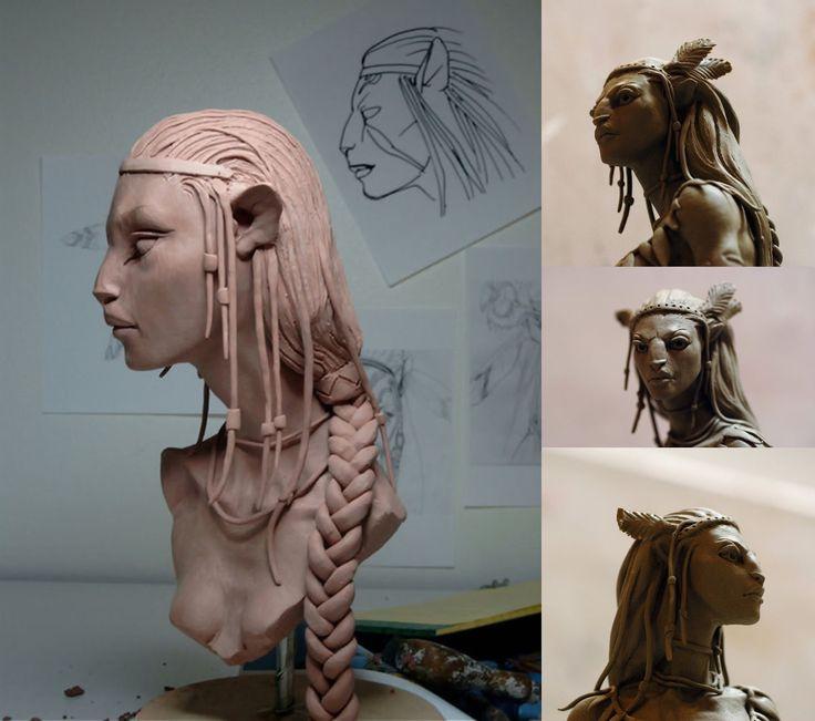 Avatar - James Cameron - Concept Art, artworks, illustrations   monblogperso