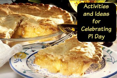 Pi day activities for Elementary and Middle School