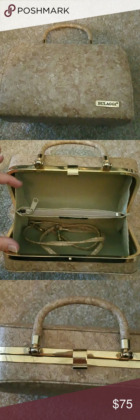 MOVING SALE Vintage Bulaga leather baguette ALL MUST GO! Excellent condition.  No offers  No trades bulaggi Bags Mini Bags