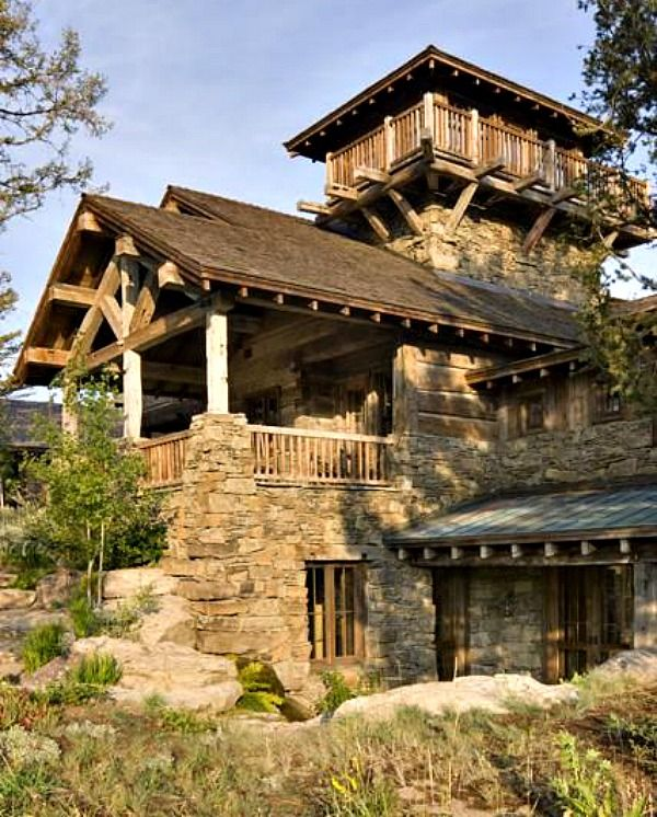 17 Best Images About Lodge Style Exteriors On Pinterest