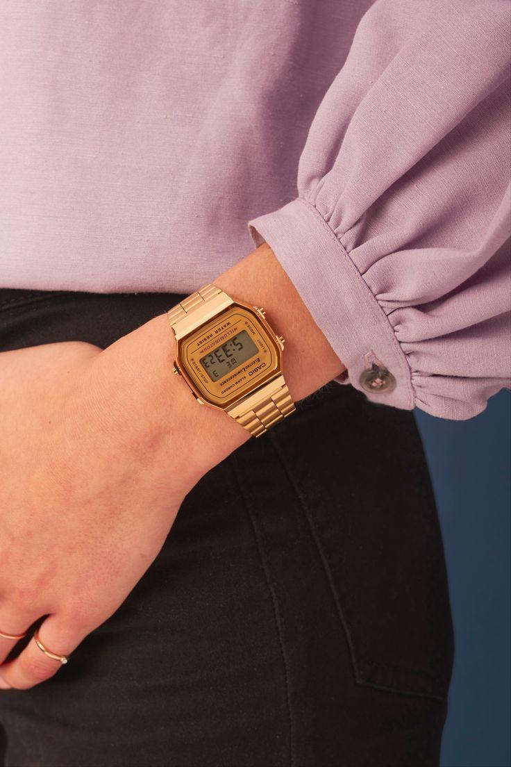 Casio A168wg 9ef Collection Digitaluhr In 2020 Vintage Watches Women Casio Vintage Watch Vintage Watches Women Retro