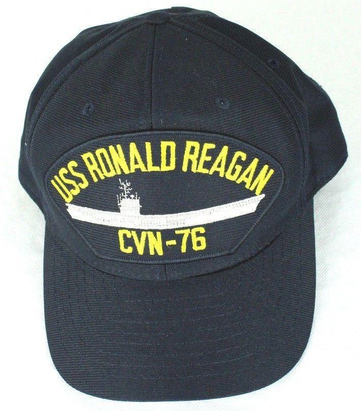 Eagle Crest Mens USS Ronald Reagan CVN-76 Snap Back Ball Cap  EagleCrest   BaseballCap 2ec574dd816