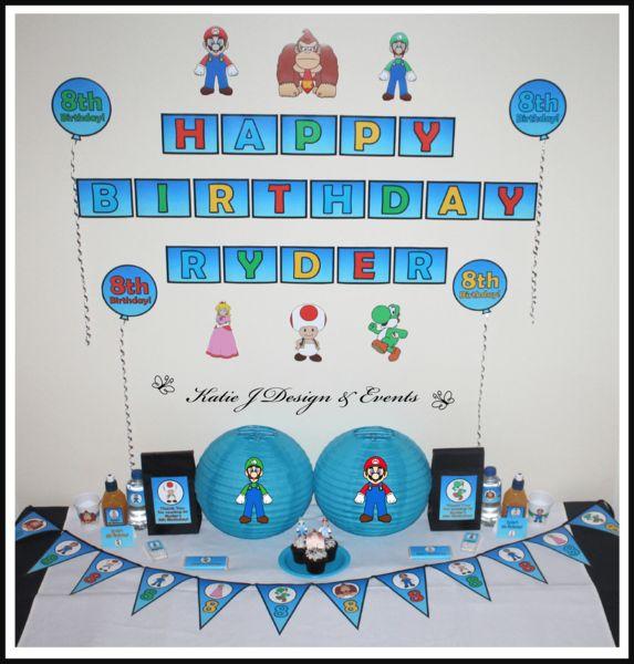 Mario Cake Toppers Australia