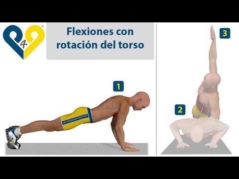 Flexiones en T - YouTube