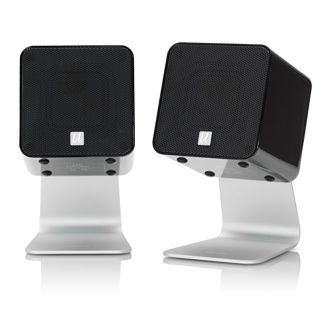 UCube Compact USB Digital Loudspeakers. $150Ucub Compact, Tech Apples, Usb Digital, Compact Ideas, Compact Usb, Sassy Speakers, 150 Tech, Digital Loudspeaker, Tech Gadgets