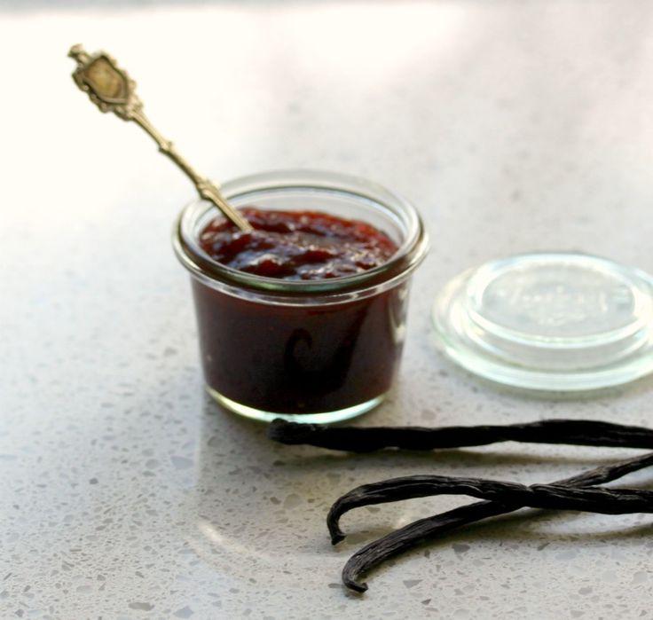 Strawberry Vanilla Jam - Cooking with Tenina