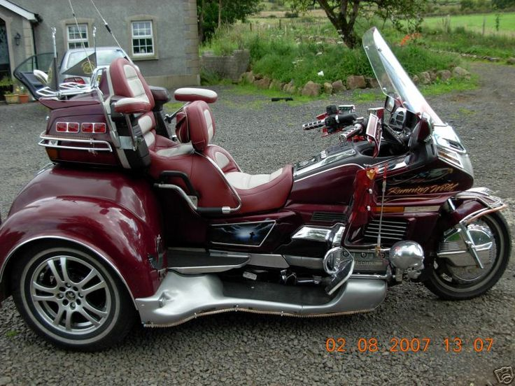Used honda goldwing trikes 1989 honda goldwing trike for Motor trikes for sale uk