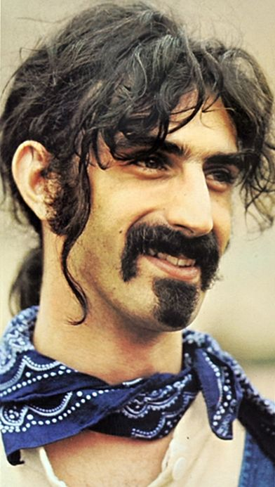 Frank Vincent Zappa- Saw him at the Armadillo World Headquarters-Austin Texas circa 1980 or so....