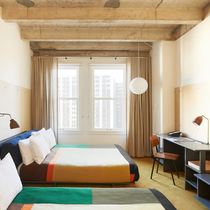 We partnered with two of our all-time favorites to create the blankets for Ace Hotel Downtown Los Angeles. Made at Oregon's Pendleton Woolen Mills and designed