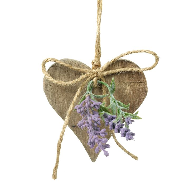 Parlene Wooden Heart with Lavender, £3.99, Cotswold Trading