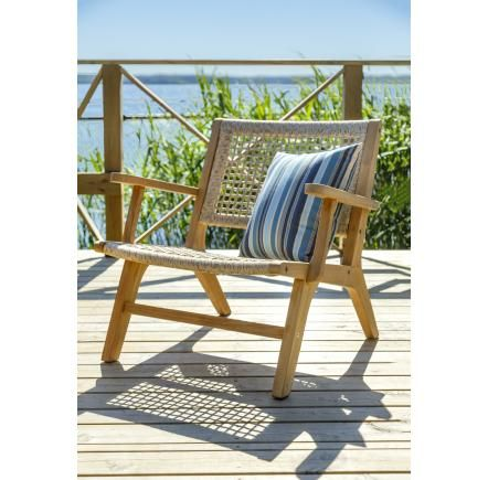 SLIPPER armchair - Teak furniture