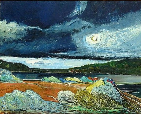 "Jean Claude Roy ""Port Anson (Terre neuve)"""