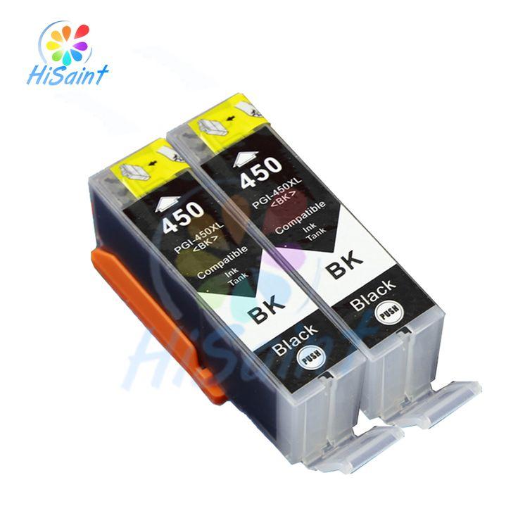 $8.68 (Buy here: https://alitems.com/g/1e8d114494ebda23ff8b16525dc3e8/?i=5&ulp=https%3A%2F%2Fwww.aliexpress.com%2Fitem%2FNew-Arrivals-2-tinta-pgi-450xl-cartucho-de-tinta-con-el-chip-para-Canon-Pixma-ip7240%2F32728082025.html ) New Arrivals 2 BK Compatible Ink Cartridges With Chip for Canon pgi-450xl Pixma ip7240 mg5440 mg6340 mx924 mg6440 Series Models for just $8.68