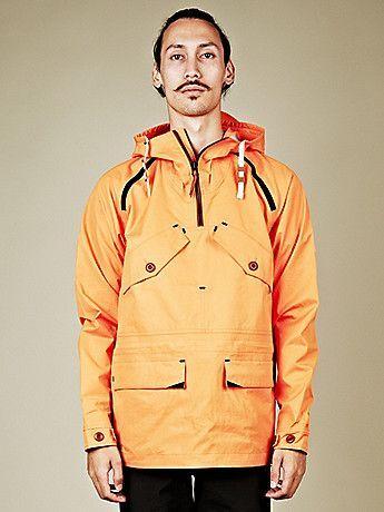 Nike NSW Men's Ventile Anorak in orange at oki-ni #RaincoatsForWomenChristmasGifts