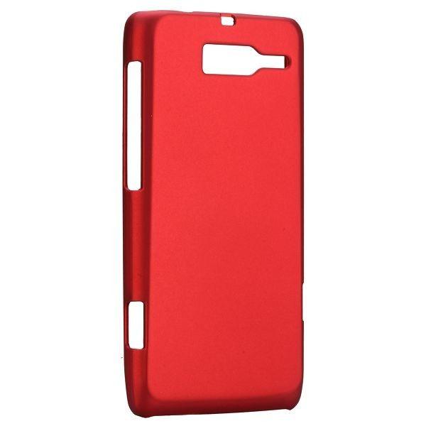 Hard Shell (Rød) Motorola DROID RAZR M Deksel