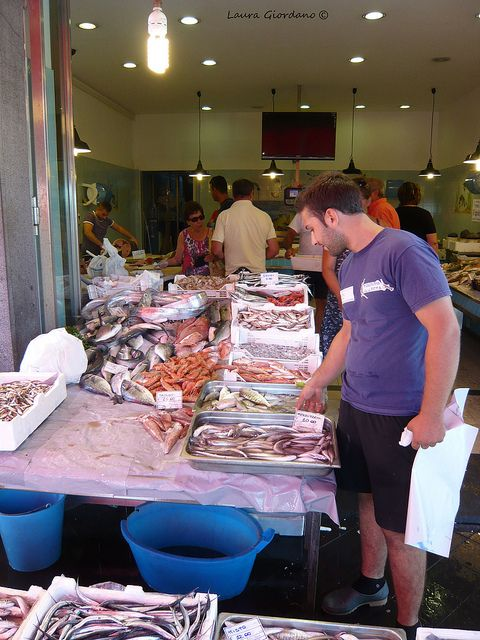Riposto (Ct) - Mercato del pesce