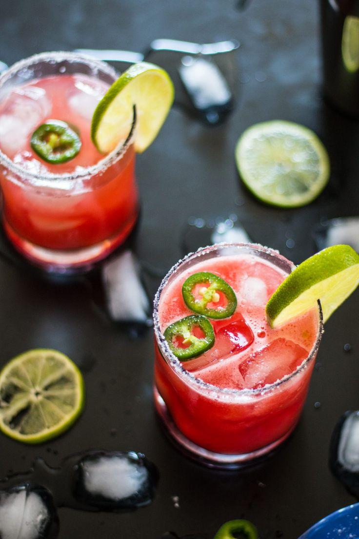 Spicy Watermelon Margarita The NutFree Vegan Recipe